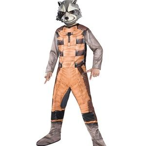 Rubie's Guardians Of The Galaxy Rocket Costume NWT